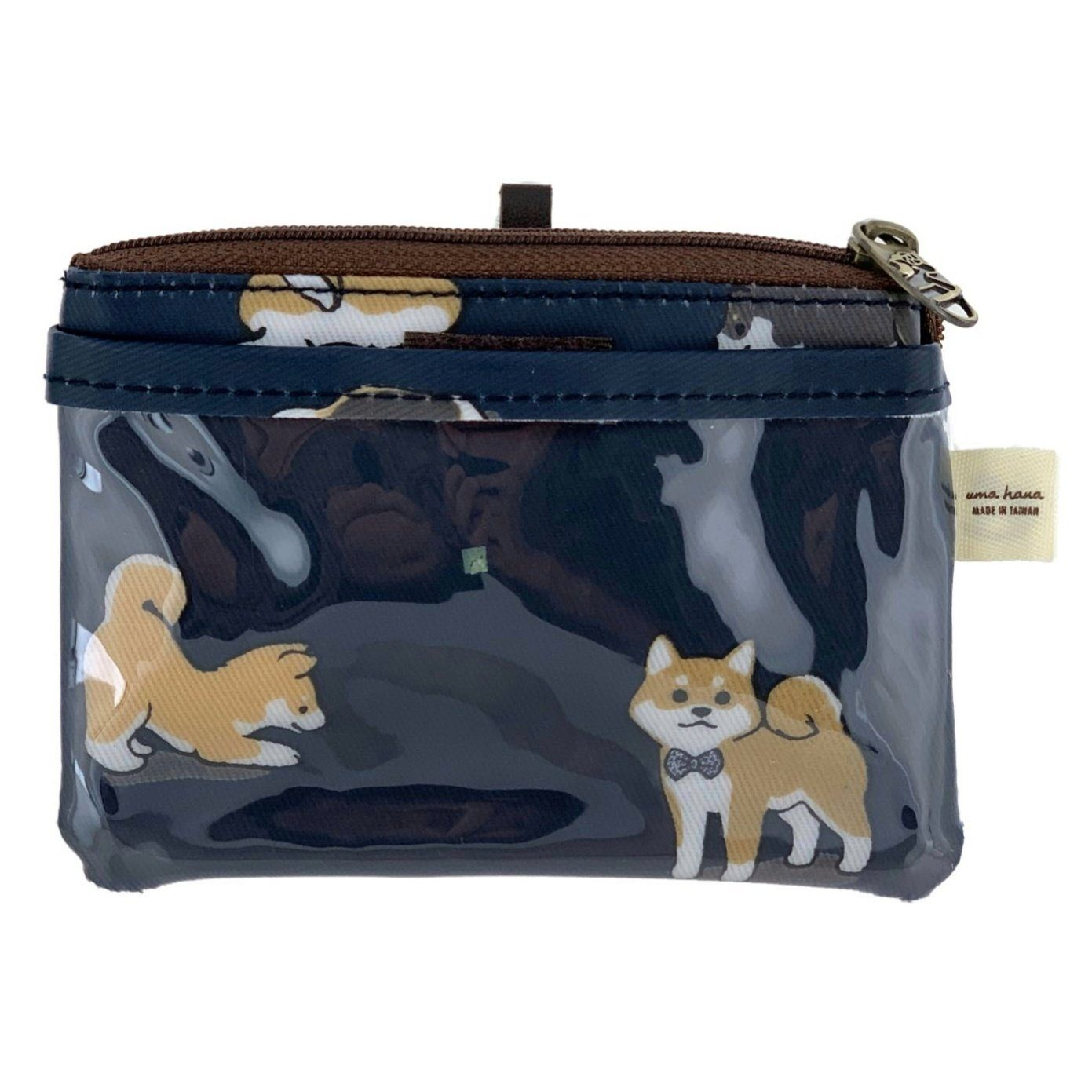 Midnight Blue Shiba Inu Card & Coin Purse Card & Coin Purse Tworgis