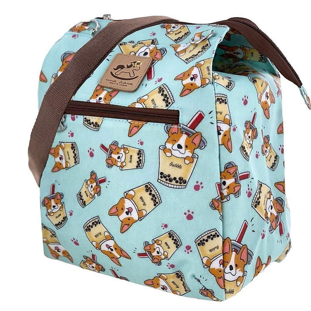 Mint Boba Corgi Multipurpose Bag Multipurpose Bag Tworgis
