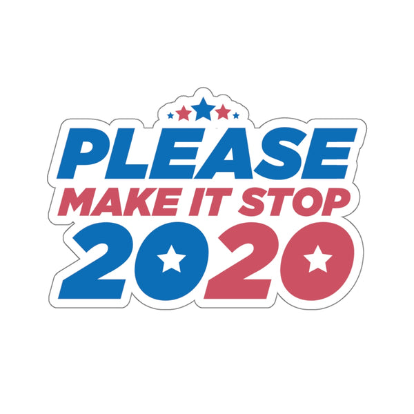 Make It Stop Sticker
