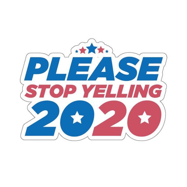 Please Stop Sticker