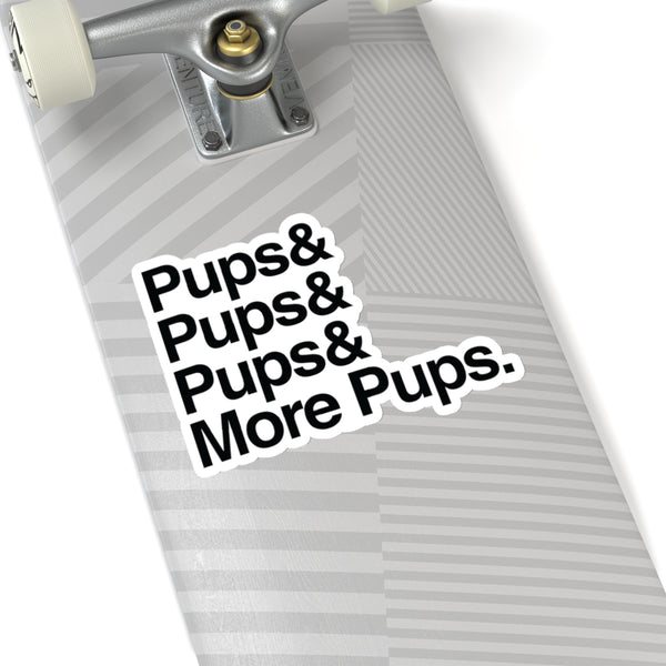 Pups Sticker
