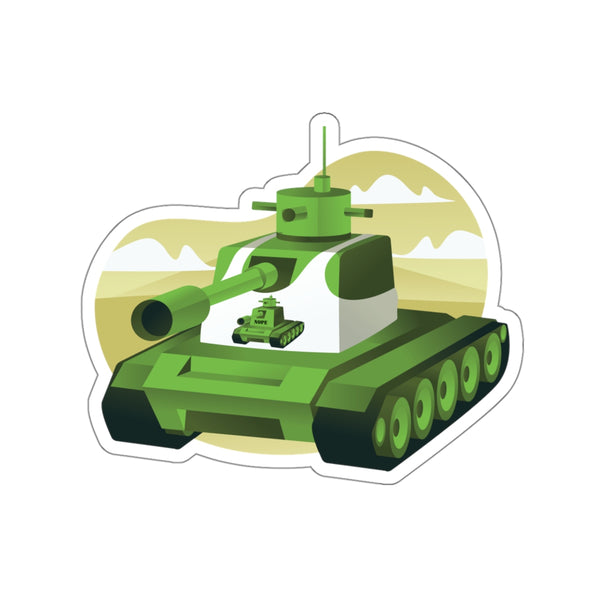 Tankception Sticker