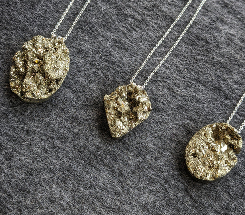 Peruvian Pyrite Necklace