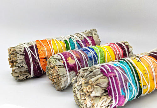 White Sage and Rose Petal Bundle