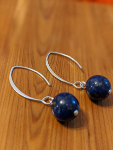 Lapis Lazuli - Sterling Silver Earrings