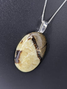 Septarian Oval Necklace