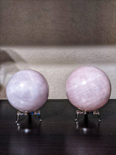 Large Pink Calcite Sphere