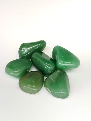 Green Aventurine Tumbled Stones - Large
