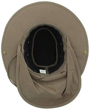 Load image into Gallery viewer, JFH Wide Brim Bora Booney Outdoor Safari Summer Hat wNeck Flap & Sun Protection