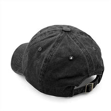 Load image into Gallery viewer, Unisex T Rex Skeleton Dinosaur Denim Hat Adjustable Washed Dyed Cotton Dad Baseball Caps