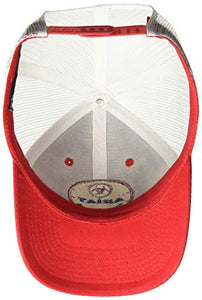 ARIAT Men's Circle Center Patch Mesh Cap red One Size
