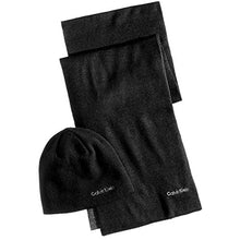 Load image into Gallery viewer, Calvin Klein Men's Reversible Hat & Scarf Set