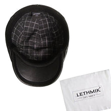 Load image into Gallery viewer, LETHMIK Genuine Deerskin Flat Cap Irish Newsboy Ivy Hat Unique Cabbie Driving Cap