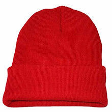 Load image into Gallery viewer, Knit Hat Hip Hop Winter Trendy Warm Thicker Baggy Stretchy Scarf Slouchy Skully Beanie Ski Cap