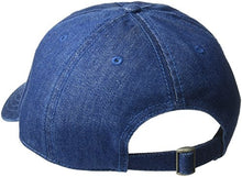 Load image into Gallery viewer, Dickies Men's Icon Denim Adjustable Baseball Dad Cap Blue
