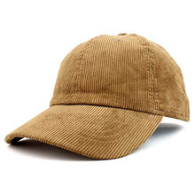 Load image into Gallery viewer, Trendy Apparel Shop Cotton Corduroy Unstructured Baseball Cap Dad Hat