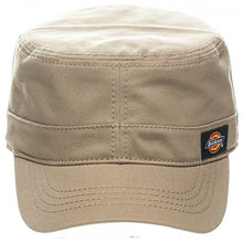 Load image into Gallery viewer, Dickies Core Wax Coated Cotton Canvas Fitted Cadet Military Radar Cap