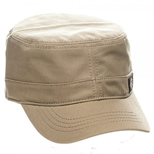 Dickies Core Wax Coated Cotton Canvas Fitted Cadet Military Radar Cap