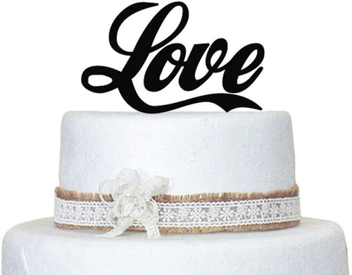 Love Wedding Cake Topper Keepsake Wedding Cake Decorations