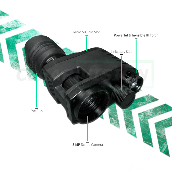 ClearVision Max Night Vision ScopeCam Kit