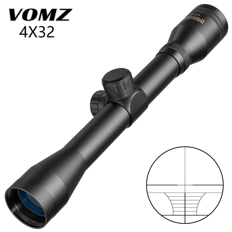 4x32 Air Rifle Scope For Hare [Short Range]