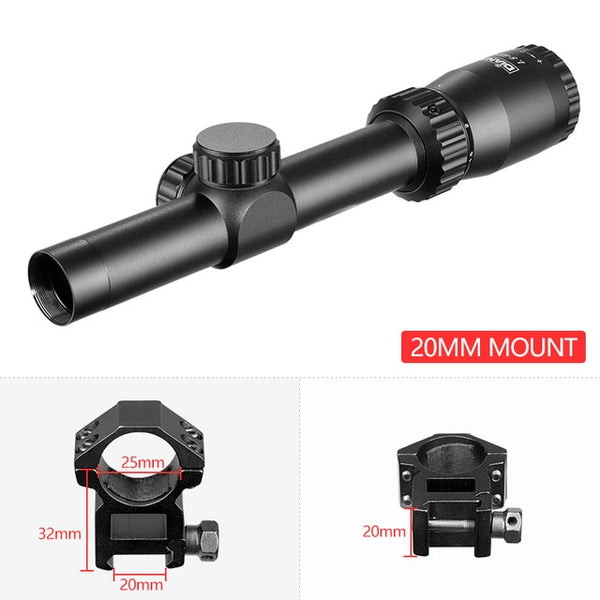 1.5-5X20 Riflescope