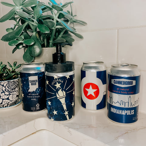Starter Pack - 2 Cans of All Natural Hand & Body Soap