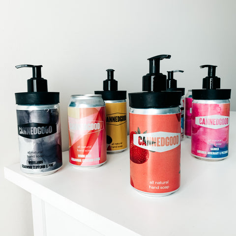 Refill Soap Cans