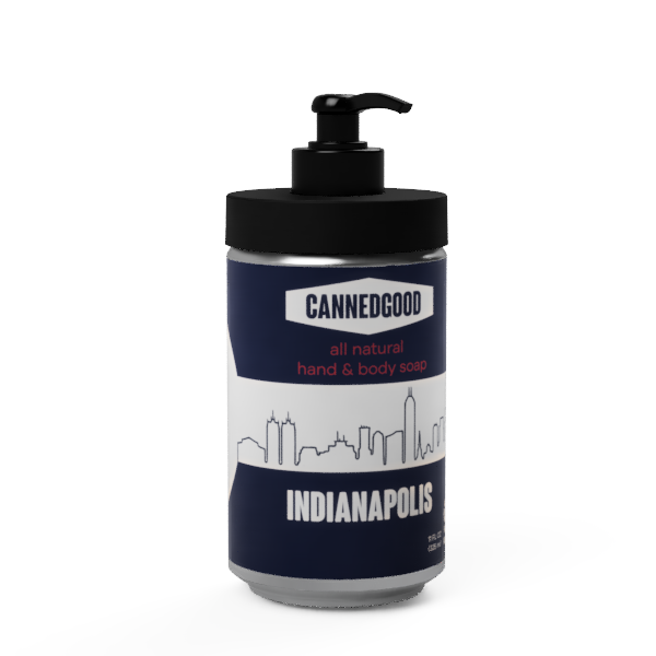 Circle City - Indianapolis - Hand Soap with Reusable Pump