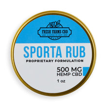 Load image into Gallery viewer, Sporta Rub 500MG - The Farmacy