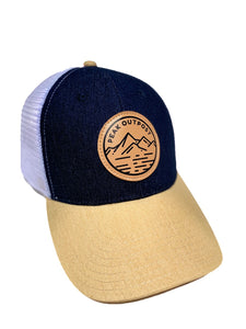 Navy Blue Trucker Hat
