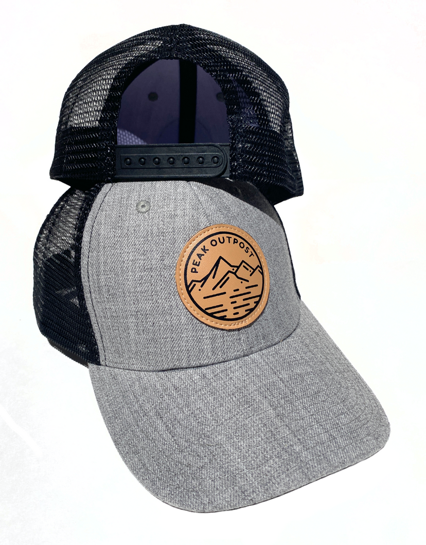 Summit Gray Trucker Hat