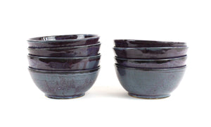 Purple Salad Bowls