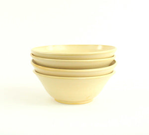 Four (4) Salad Bowls in an assortment of colors