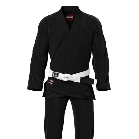 Summo Basic Black Brazilian Jiu Jitsu Gi ( BJJ GI )