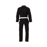 Summo Basic Black With Red Thread Brazilian Jiu Jitsu Gi ( BJJ GI )