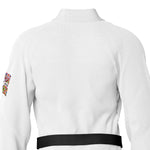 We Are All One White Sublimation Brazilian Jiu Jitsu Gi ( BJJ GI )
