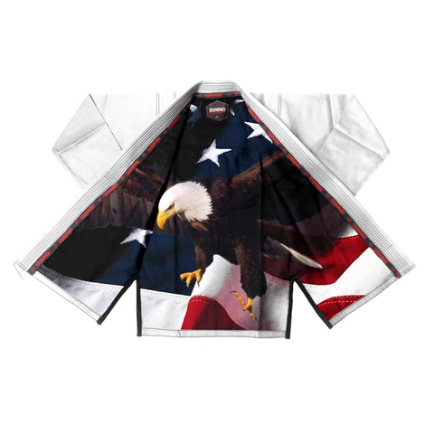 American Warrior Sublimation Braziliaanse Jiu Jitsu  Gi ( BJJ GI )