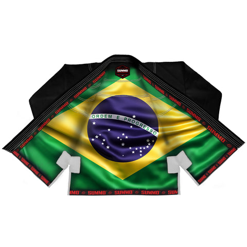Brazilian Black Sublimation Brazilian Jiu Jitsu Gi ( BJJ GI )