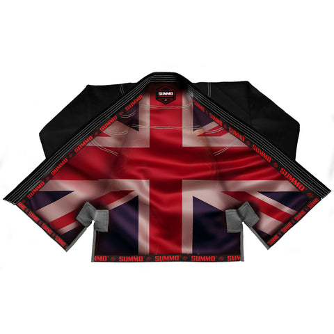 British Black Sublimation Brazilian Jiu Jitsu Gi ( BJJ GI )