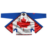 Canadian Blue Sublimation Brazilian Jiu Jitsu Gi ( BJJ GI )