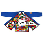 Gi de Jiu-Jitsu Brésilien Bleu We Are All One (JJB GI)