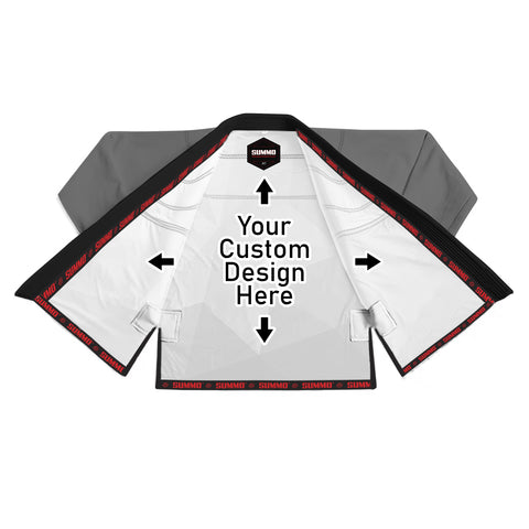 Exklusives Individuell Rashguard lining With Your Logo und Name Brazilian Jiu Jitsu ( BJJ GI )