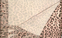 Load image into Gallery viewer, Cashmere Leopard Scarf-70x200cm-Unisex