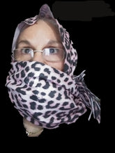 Load image into Gallery viewer, Cashmere Leopard Scarf-Spring-70x200cm-Women