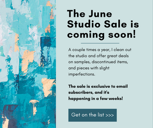 Studio Sale FAQ & Preview