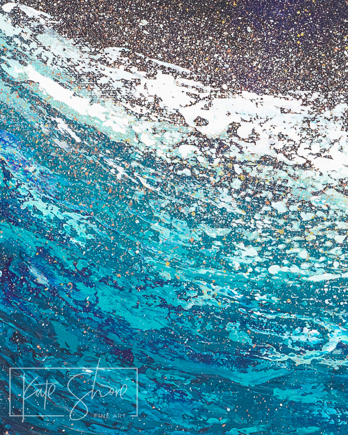 Print | Bioluminescent Detail