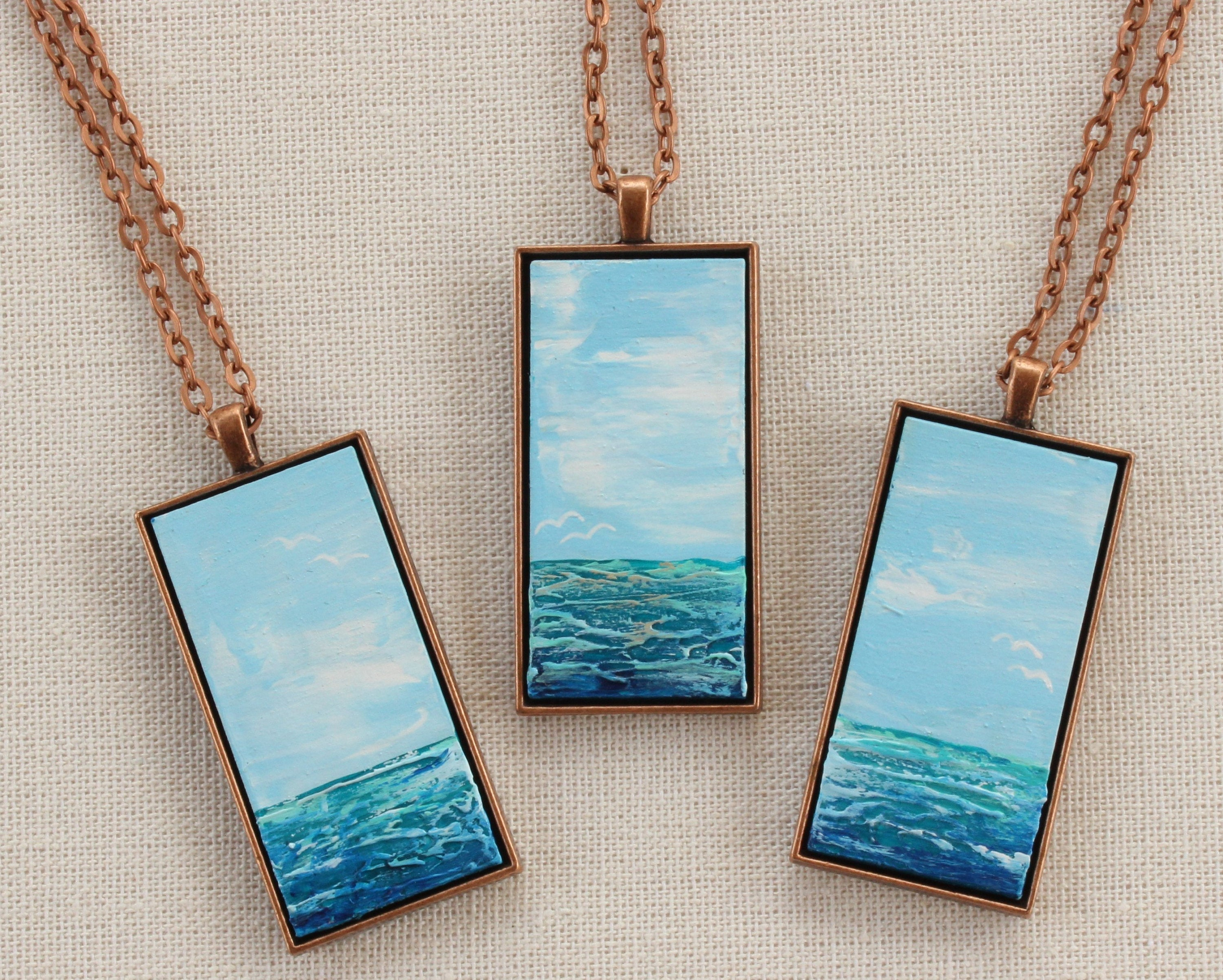 Painted Beach Necklace