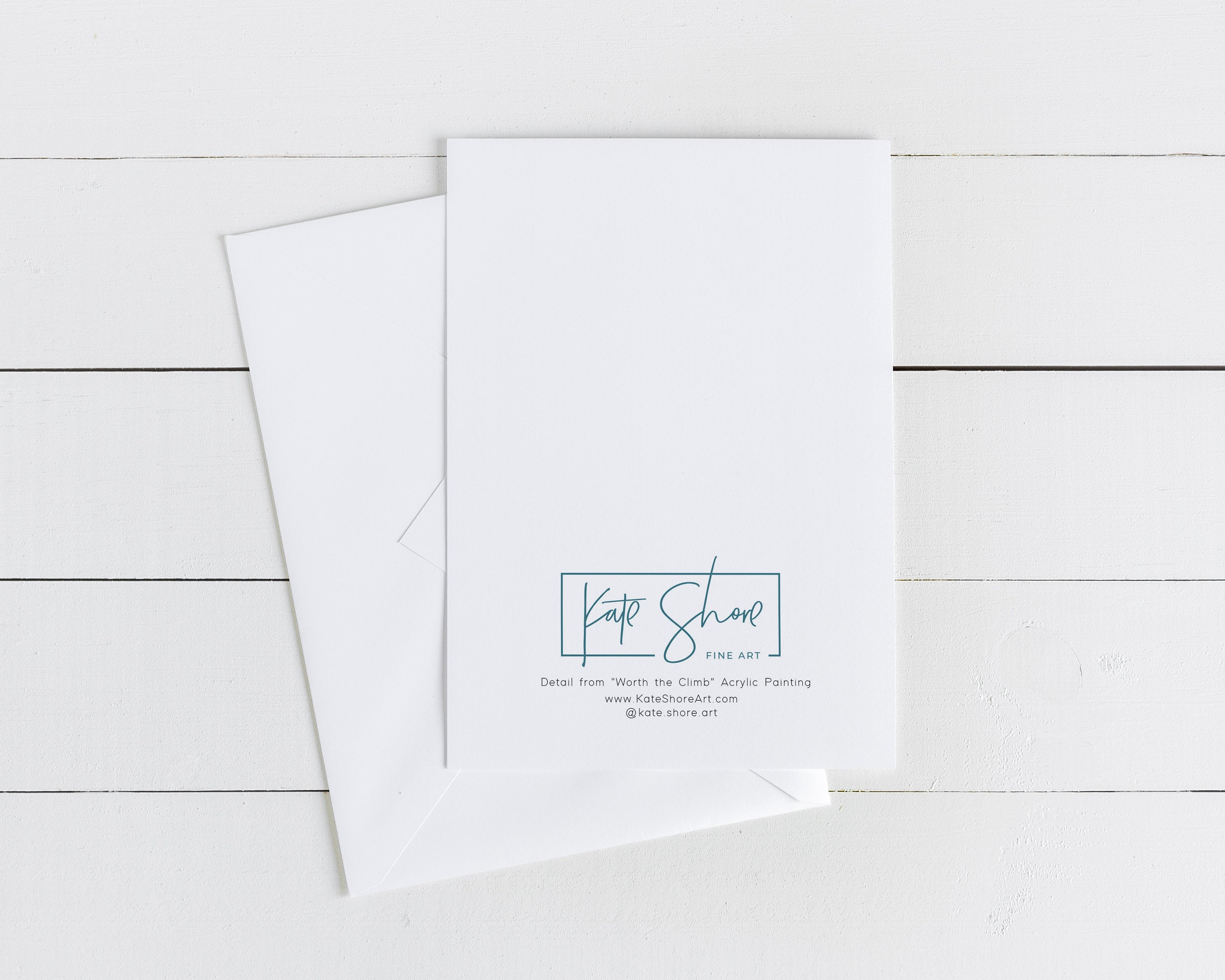 Set of 6 Abstract Beach Note Cards