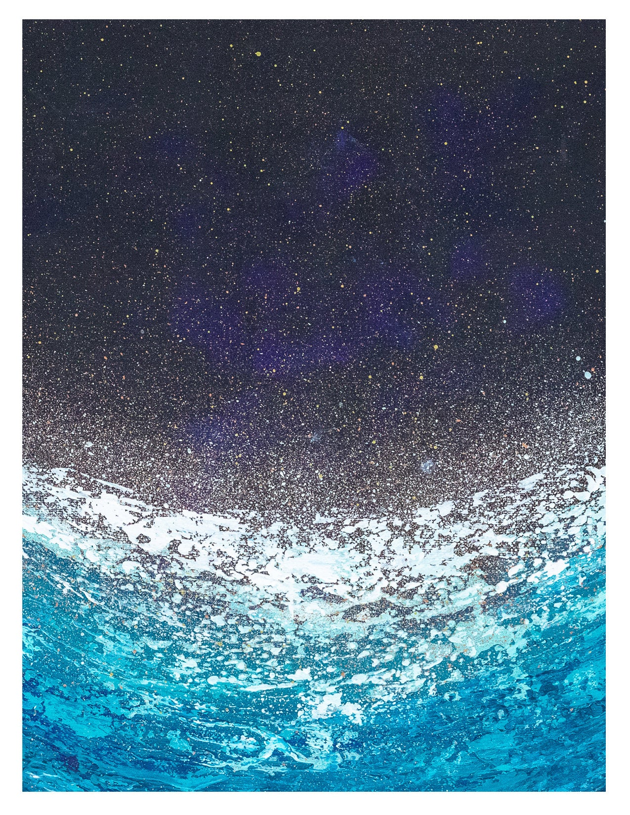 "Blank Greeting Card | ""Bioluminescent"""
